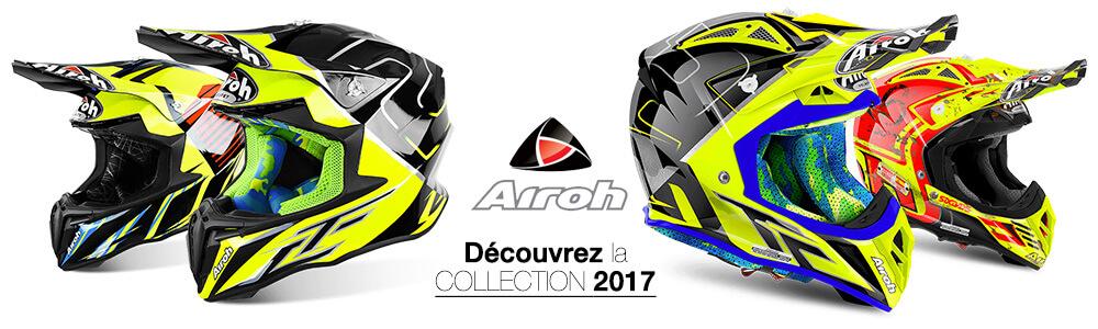 Casques Motocross Airoh