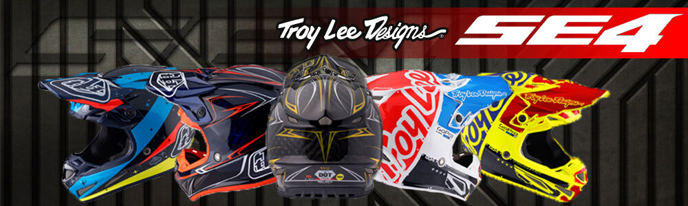 Casques Motocross Troy Lee Design SE4 2017