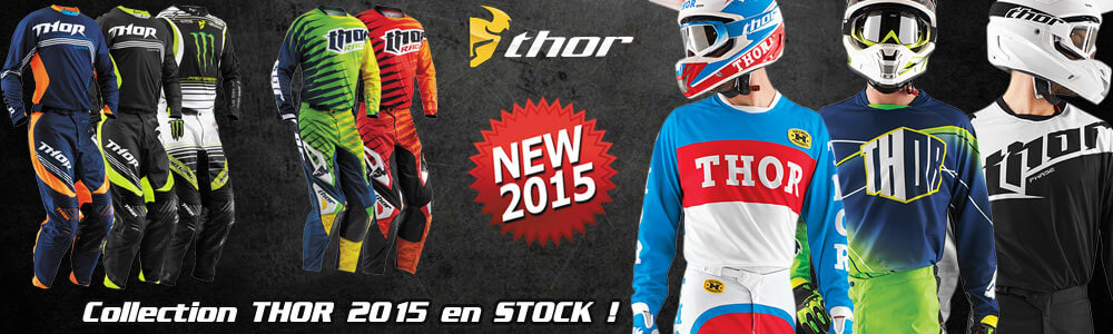 Tenues Motocross Thor MX Phase Core 2015