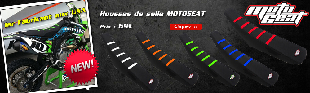 Housses de Selle Motocross Grip Ribbed Motoseat