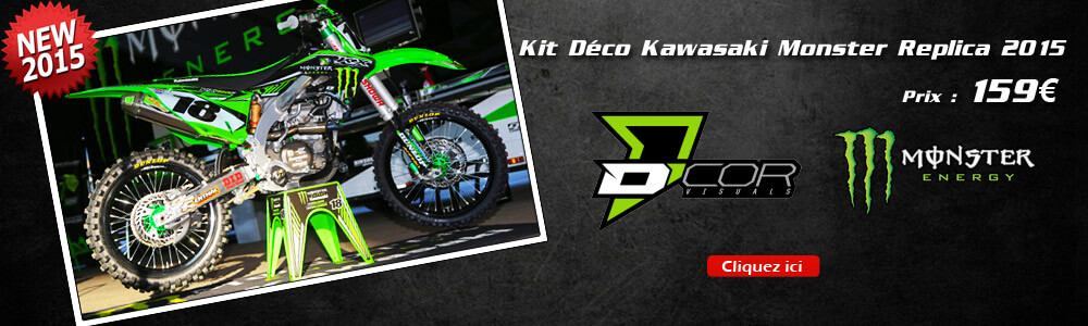 Kit Déco Kawasaki Monster Supercross US Replica 2015