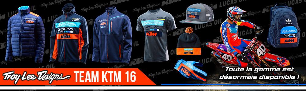 Sportswear KTM Troy Lee Design Gopro KTM