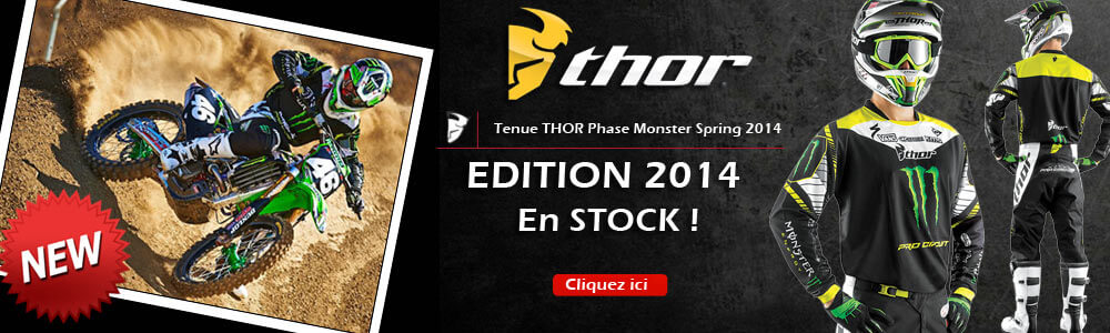 Tenue Complète THOR MX Phase Monster Pro Circuit Spring 2014