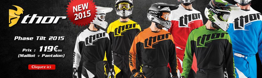 Tenues Motocross Thor MX Phase Tilt 2015
