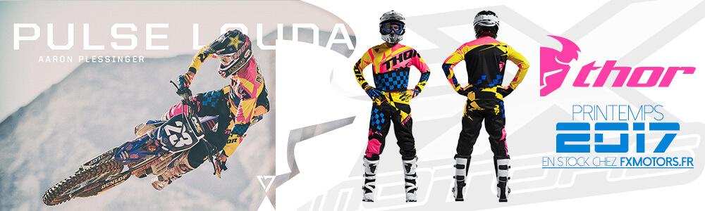 Tenues Motocross Thor Pulse Louda Printemps 2017