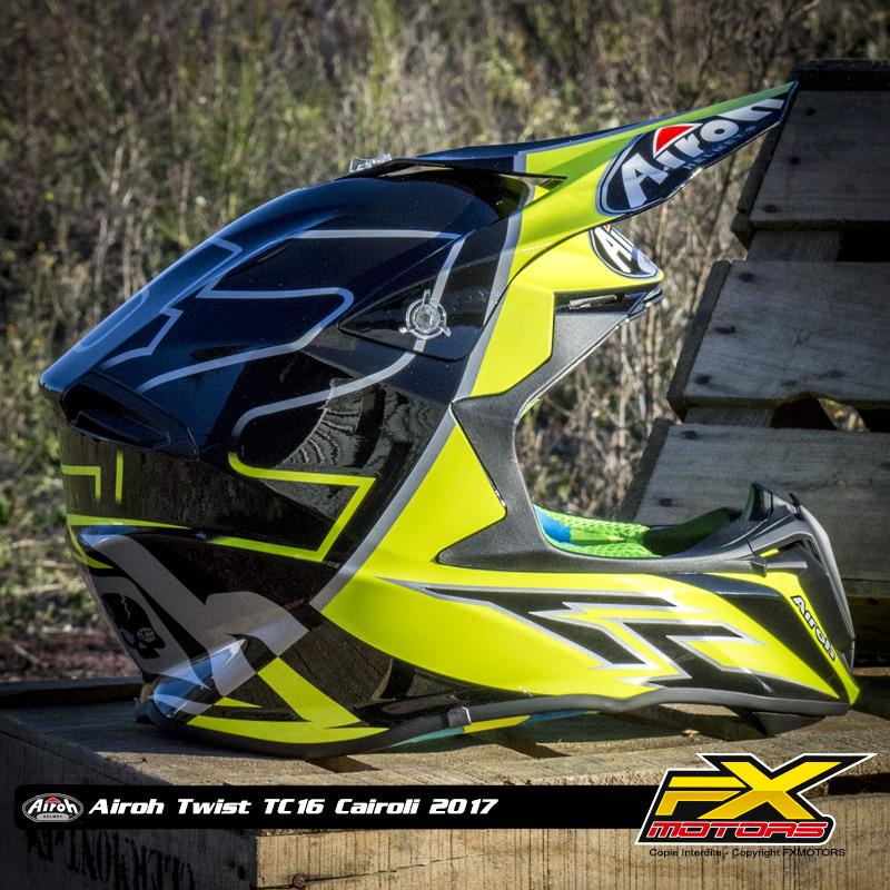 Casque Cross Airoh Twist Tc16 Cairoli Fx Motors