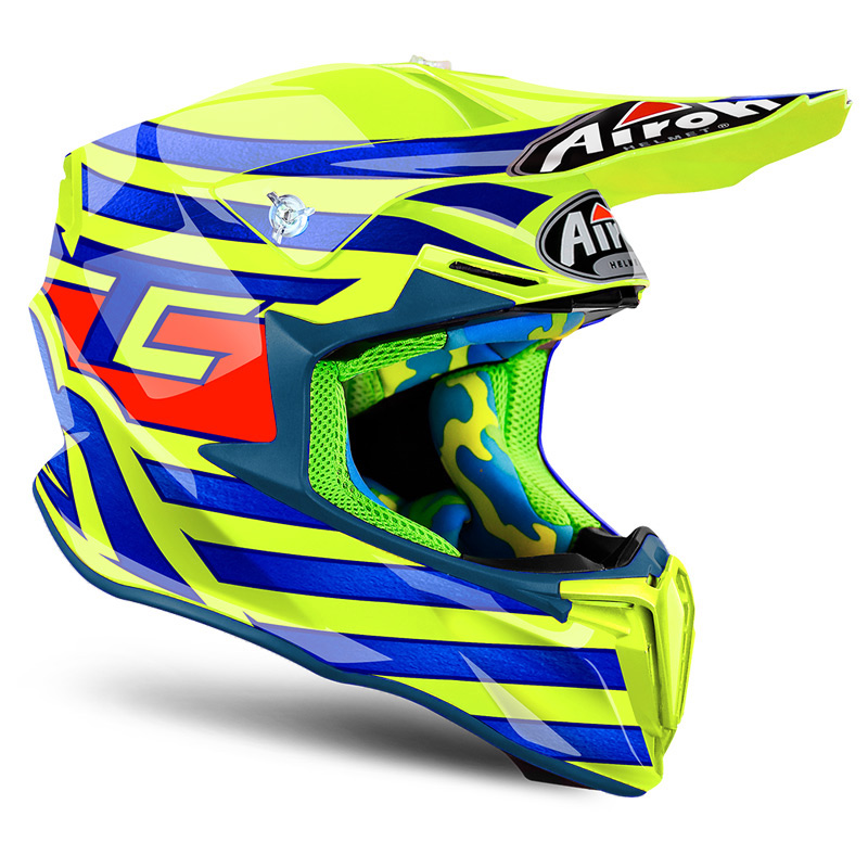 Extrêmement Casque Cross Airoh Twist Cairoli Qatar 2018 - FX MOTORS PZ18