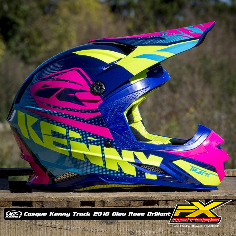 Casque Cross Kenny Track 2018 Fx Motors