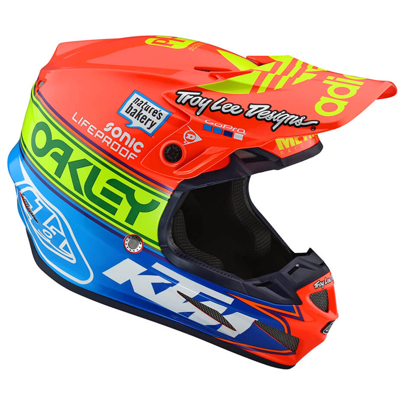Casque Cross Tld Se4 Composite Team Edition 2 2019 Fx Motors