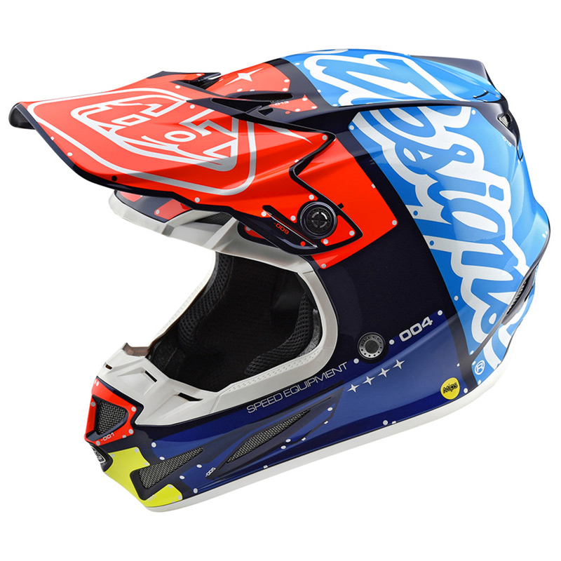 Fabuleux Casque Cross TLD SE4 Composite Factory - FX MOTORS NH58