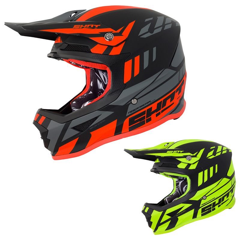 Fabuleux Casque Cross Shot Furious Riot 2018 - FX MOTORS NH58