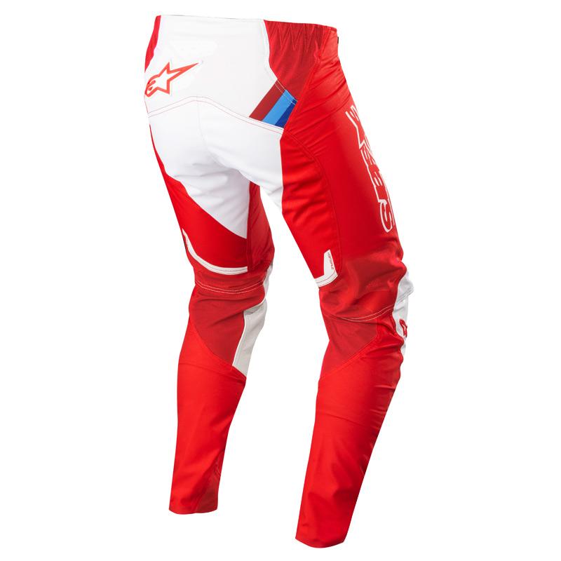 Alpinestars Maillot Motocross 2019 Supertech Rouge Blanc