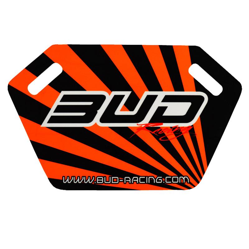 Pit Board Bud Racing Orange