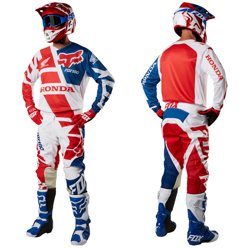 Fabuleux Tenue Cross Fox Racing 180 HONDA Rouge 2018 - FX MOTORS NH58