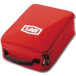 Boîte de Rangement Masques MX 100% Rouge