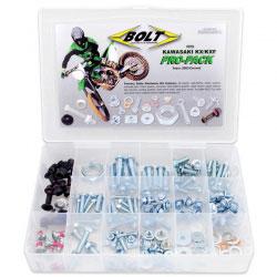 Boîte de Vis Complète BOLT Pro Pack - KAWASAKI KX KXF