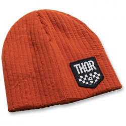 Bonnet Thor Mx Chex Orange 2016