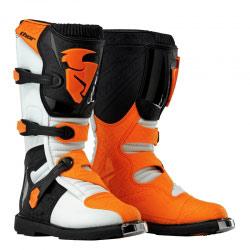 Bottes Enfant Motocross Thor Mx Blitz White/Orange