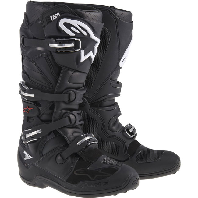 bottes motocross alpinestars tech 7 black fx motors. Black Bedroom Furniture Sets. Home Design Ideas
