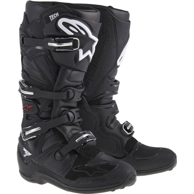 bottes motocross alpinestars tech 7 black fx motors. Black Bedroom Furniture Sets. Home Design Ideas