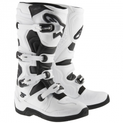 Bottes Motocross Alpinestars TECH 5 White