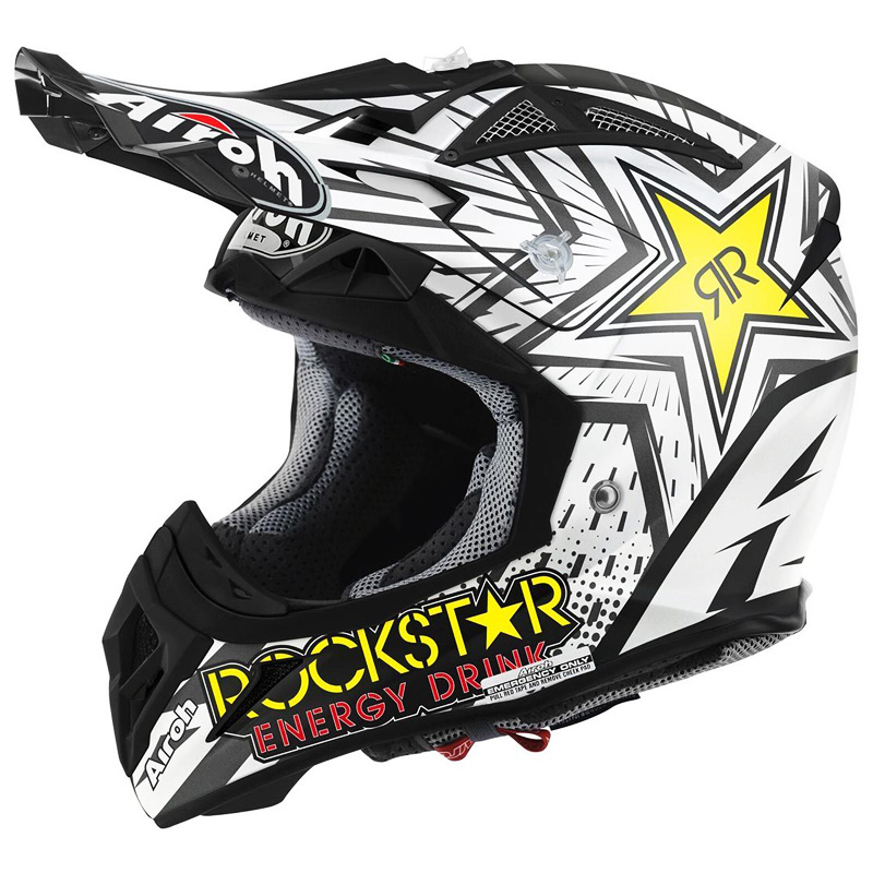 casque cross airoh aviator 2 2 rockstar fx motors. Black Bedroom Furniture Sets. Home Design Ideas