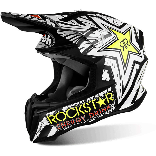 casque cross airoh twist rockstar fx motors. Black Bedroom Furniture Sets. Home Design Ideas