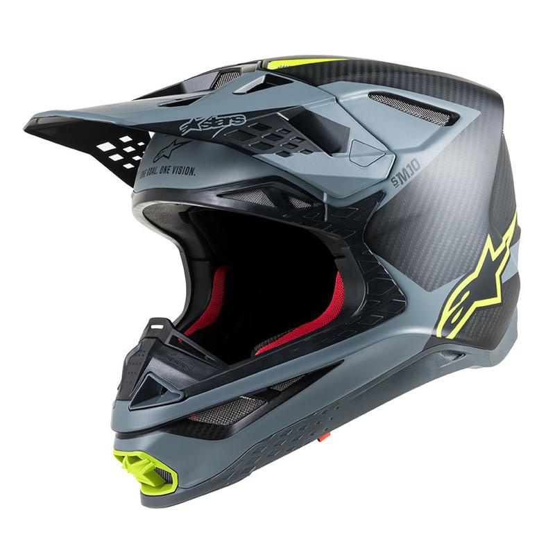 Casque Cross Alpinestars Supertech S-M10 Meta 2019 - FX MOTORS 59c962386a70
