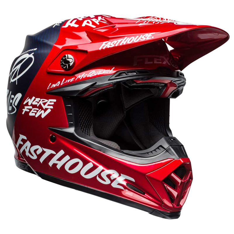Casque Cross Bell Moto 9 Flex Fasthouse Did 2019 Fx Motors
