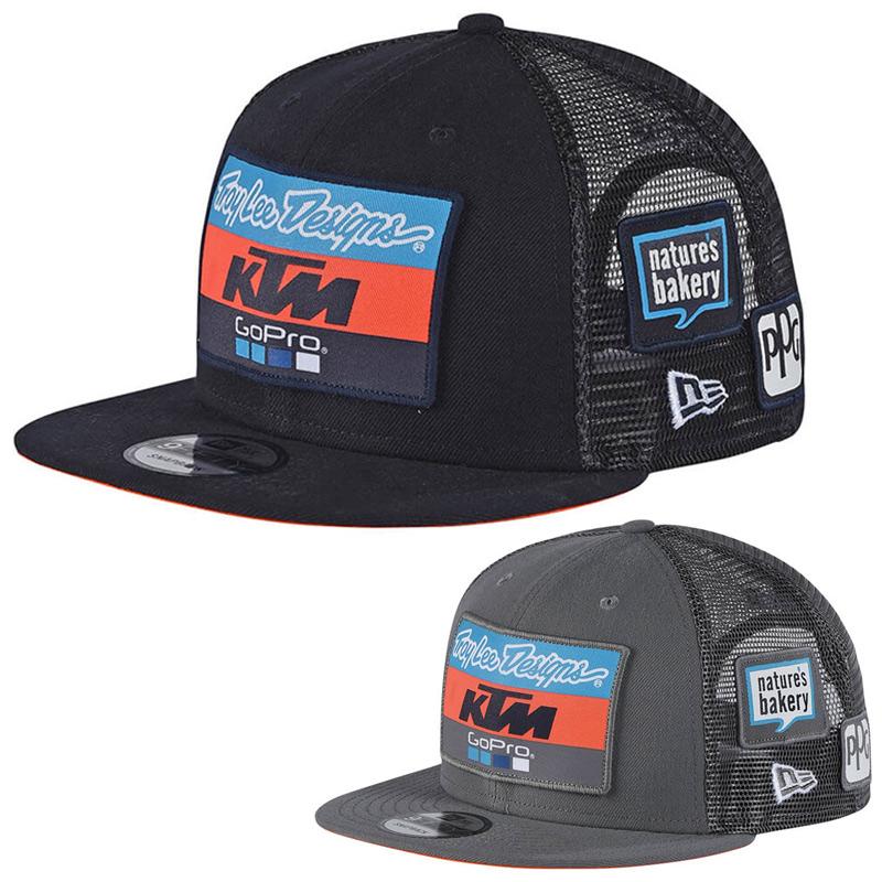 regard détaillé f2adb db26c Casquette Troy Lee Designs Team KTM GoPro Snapback 2018