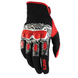 Gants Cross 100% Derestricted Dual Sport Black/White/Red 2016