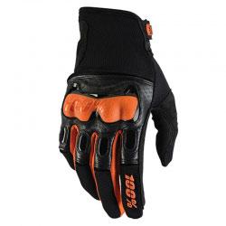 Gants Cross 100% Derestricted Dual Sport Black/Orange 2016