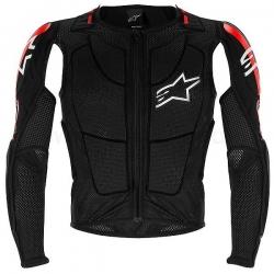 Gilet de Protection Alpinestars Bionic Plus - Black/Red/White