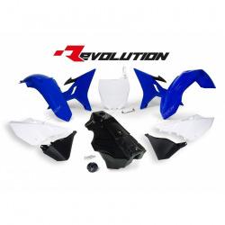 Kit Plastique + Réservoir YZ 02-16 Revolution R'Tech