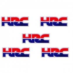 Pack de 5 Stickers HRC