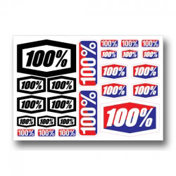 Planche de stickers 100%