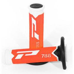 Poignées Pro Grip 788 - BLANC/ORANGE FLUO/NOIR
