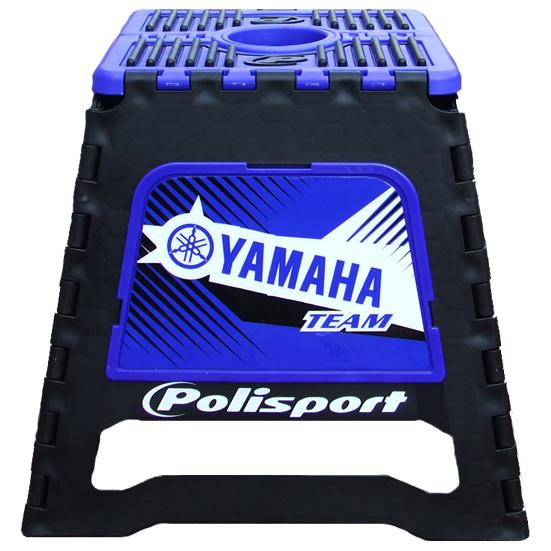 porte moto pliable polisport yamaha team bleu fx motors. Black Bedroom Furniture Sets. Home Design Ideas