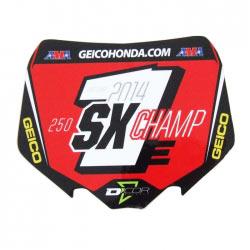 Sticker Collector 250 SX Champion 2014 - D'COR