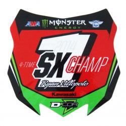 Sticker Collector 450 SX Champion 2014 - D'COR