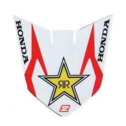 Sticker Garde Boue Avant Rockstar White/Red - HONDA CR/CRF