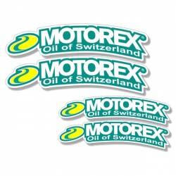 Stickers Garde Boue Avant Motorex