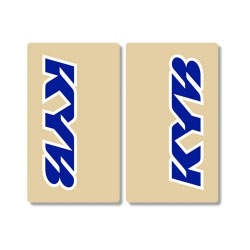 Stickers de Fourche KYB - BLEU