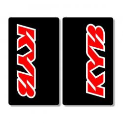 Stickers de Fourche KYB - ROUGE/NOIR