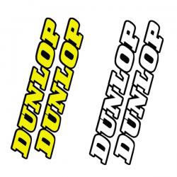 Stickers de Fourche/Bras Oscillant DUNLOP - Factory FX