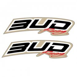 Stickers de Garde Boue Avant Bud Racing