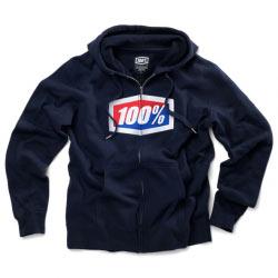 Sweat 100% Navy Corporate Zip