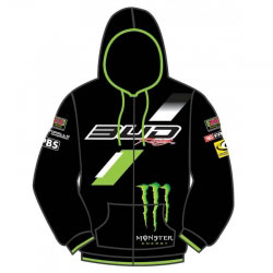 Sweat Bud Racing Monster 2015 Noir/Vert