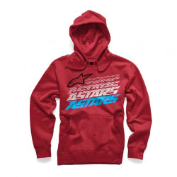 Sweat Homme Alpinestars Hashed Red