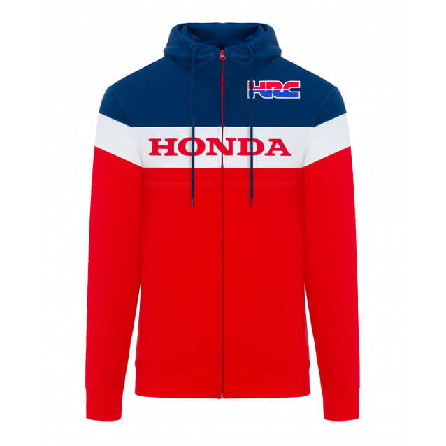 Sweat Zippé Team Honda HRC 2019 - FX MOTORS